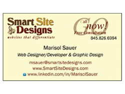 Smart Site Designs Business Card